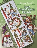 Love Snowfriends Banner from Stoney Creek Collection