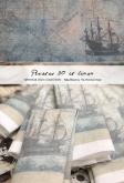 Pirates ~ 40 count Printed Hand Dyed Linen from The Primitive Hare ~ Nashville 2020
