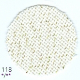 Cream with Gold Metallic ~ 20 count Lugana (Bellana) evenweave from Zweigart
