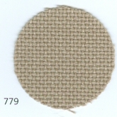 Light Taupe ~ 20 count Lugana (Bellana) evenweave from Zweigart