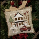 Grandpa's Pick-up ~ Chart #3 Farmhouse Christmas ~ Little House Needleworks