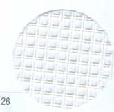 White ~ 7 count Double Mesh Canvas from Zweigart