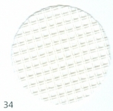 White ~ 9 count Double Mesh Canvas from Zweigart