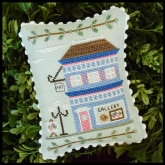Art Gallery #5 ~ Main Street series from Country Cottage Needleworks