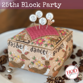 Block Party ~ 25th ~ Hands on Design ~ Needlework Expo 2021!