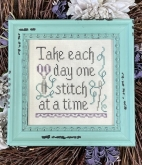 One Stitch at a Time from My Big Toe ~ Needlework Expo 2021