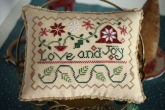 Love & Joy from October House ~ Needlework Expo 2021!