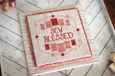 Sew Blessed from October House ~ Needlework Expo 2021!