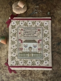 Be Kind Sampler from Stacy Nash Primitives ~ Needlework Expo 2021