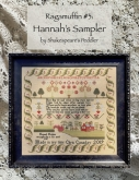 Ragamuffin #3 ~ Hannah's Sampler from Shakespeare's Peddler ~ Needlework Expo 2021