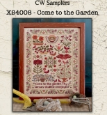 Come to the Garden ~ Cross Stitch from CW Samplers/ Teresa Kogut ~ Needlework Expo 2021!
