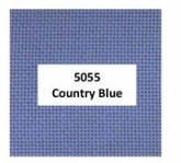 Country Blue ~ 24 count Congress Cloth from Zweigart