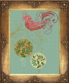 Christmas Red Cardinal from Alessandra Adelaide Needleworks