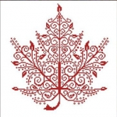 Maple Leaf from Alessandra Adelaide Needleworks / AAN