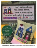 Self-medicate with Cross Stitch from Amy Bruecken Designs