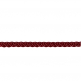 Burgundy Polyester Woven Fancy Braid from Access Commodities ~ 1 yd