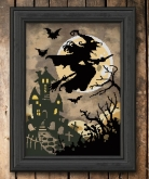 Hallows' Eve Haunting from Autumn Lane Stitchery ~ Nashville 2020!