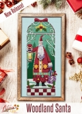 Woodland Santa from Autumn Lane Stitchery ~ Nashville 2020!