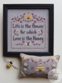 Honey Flower from AnnaLee Waite Designs