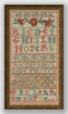 Forgery #19 - Scottish 1767 Sampler kit from Amy Mitten Designs / Fibers to Dye For