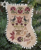Tulip Basket Ornament from Abby Rose Designs