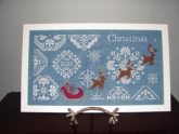 Snowy Christmas Quaker Style from Aury TM Designs