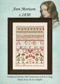Supplies for Ann Morison ~ Hands Across the Sea Samplers ~ Chart is Out of Print