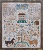 The Fall ~ Sampler from Barbara Ana Designs