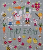 Hoppy Easter from Barbara Ana Designs
