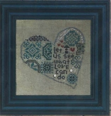 Quaker Heart ~ Includes Buttons from Bent Creek