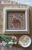 Basket of Cherries ~ Chart #1 ~ Garden Club series from Blackbird Designs