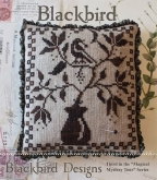 Blackbird ~ Chart #3 in the Magical Mystery Tour Series from Blackbird Designs