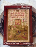 The Country Life ~ Abecedarian Series Chart #7 ~ Loose Feathers 2013 from Blackbird Designs