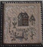 Snow in the Garden ~ Anniversaries of the Heart Pattern #1 from Blackbird Designs