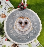 Winter Snow Owl from Blackberry Lane Designs