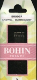 Bohin Crewel Needles ~ choose from sizes #1, #3, #5, #6, #7, #9, #10, #3/9 or #5/10