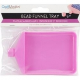 Bead Funnel Tray from Craft Medley