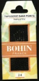 Bohin Tapestry Needles ~ choose from sizes #18, #18/22, #20, #22, #24, #26 or #28 ~ 6 per pack