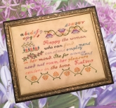 Happy the Woman from Cross Stitch Antiques ~ Nashville 2018 ~ 1 only