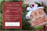 Classic Ornaments Series from Country Cottage Needleworks