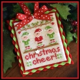 Christmas Cheer ~ Chart #5 Classic Ornaments Collection from Country Cottage Needleworks