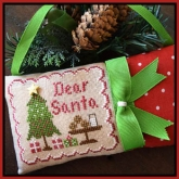 Dear Santa ~ Chart #2 in the Classic Ornaments Collection from Country Cottage Needleworks