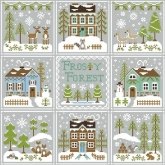 Frosty Forest Series from Country Cottage Needleworks