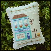 Flower Shop #1 ~ Main Street series from Country Cottage Needleworks