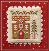 Gingerbread House 1 ~ Chart #3 Gingerbread Village from Country Cottage Needleworks