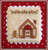 Gingerbread House 3 ~ Chart #5 Gingerbread Village from Country Cottage Needleworks