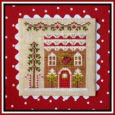 Gingerbread House 4 ~ Chart #6 Gingerbread Village from Country Cottage Needleworks