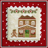 Gingerbread House 5 ~ Chart #8 Gingerbread Village from Country Cottage Needleworks