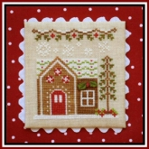 Gingerbread House 6 ~ Chart #9 Gingerbread Village from Country Cottage Needleworks