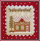 Gingerbread House 7 ~ Chart #10 Gingerbread Village from Country Cottage Needleworks